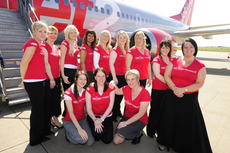 Jet2.com Flight Crew Wearing Staff Uniforms Produced By Oriss