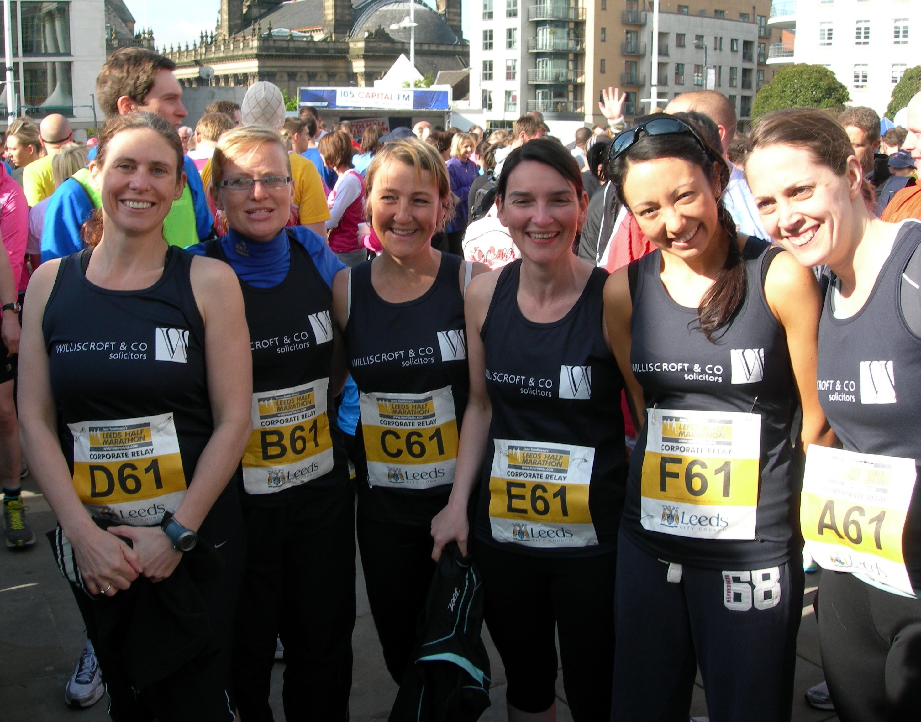 Williscroft Ladies in Running Vests